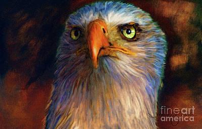 Painting - Eagle by Tara Richardson