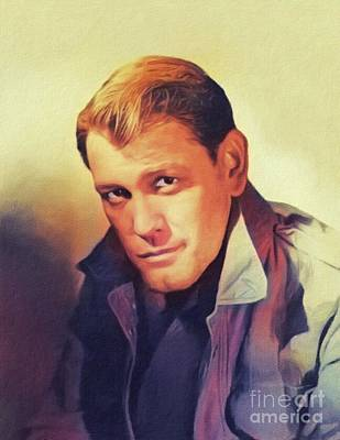Pittsburgh According To Ron Magnes - Earl Holliman, Vintage Actor by Esoterica Art Agency