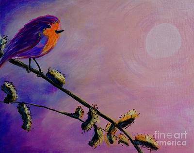 Painting - Early Bird by Jacqueline Athmann