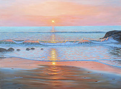 Painting - Early Breakers by Bruce Dumas