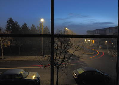 Royalty-Free and Rights-Managed Images - Early Dawn Commute by Richard Thomas