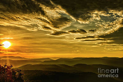Photograph - Early Morning In The Mountains by Thomas R Fletcher