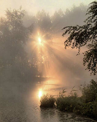 Painting - Early Morning On The Jordan River by Troy Caperton