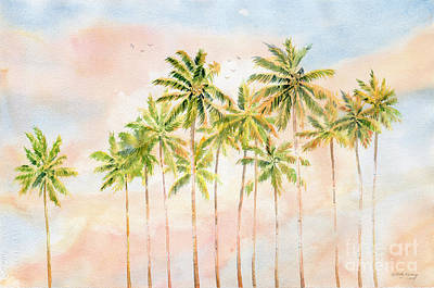 Early Morning On Tropical Island Original