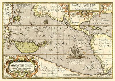 Digital Art - Early Pacific Ocean by Gary Grayson