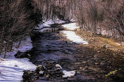 Digital Art - Early Spring In Southern Vermont by Rusty R Smith