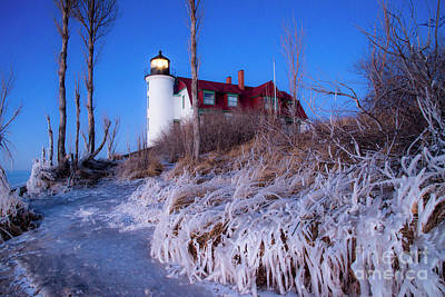 Royalty-Free and Rights-Managed Images - Early Winter at Point Betsie by Twenty Two North Photography