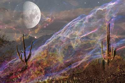 Digital Art - Earth Energy by Ramona Murdock