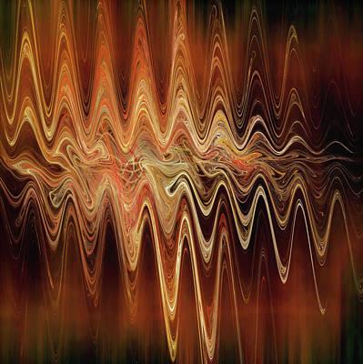 Digital Art - Earth Frequency by Menega Sabidussi