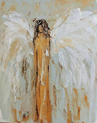 Painting - Earthly Angel  by Jennifer Nease