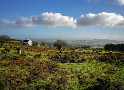 Photograph - East Caradon Hill Bodmin Moor Cornwall by Richard Brookes