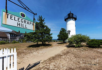 Photograph - East Chop Lighthouse Marthas Vineyard by Michelle Constantine