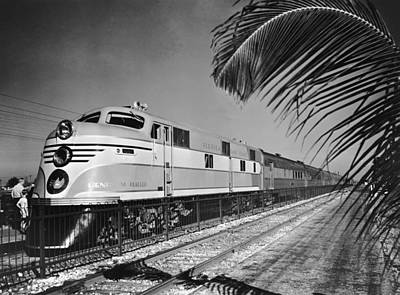 East Coast Train Art Print by R. Gates