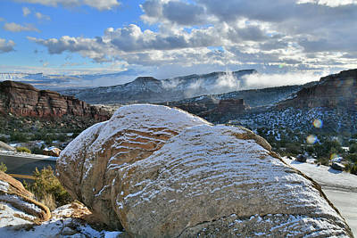 Photograph - East Entrance's Rim Rock Drive In Colorado National Monument by Ray Mathis