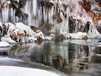 Photograph - East Idaho Winter by Leland D Howard