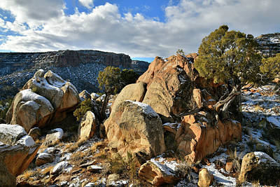 Photograph - East Side Of Colorado National Monument by Ray Mathis