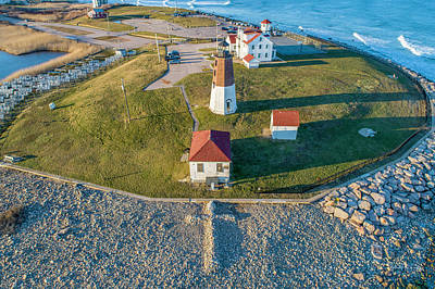 Photograph - Easter At Point Judith  by Michael Hughes