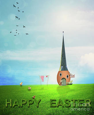 Photograph - Easter House by Juli Scalzi