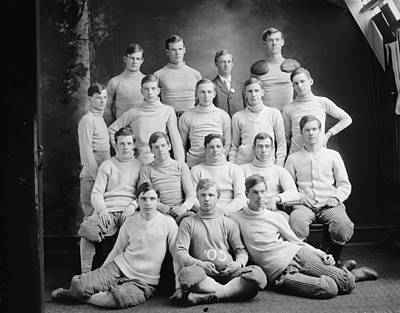 Painting - Eastern High School Football Team 1905 by Celestial Images