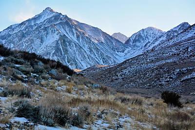 Photograph - Eastern Sierra Sunset by Kyle Hanson