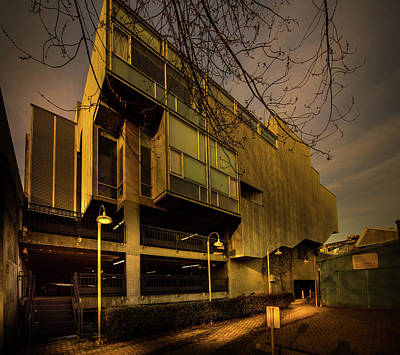Photograph - Eastside View Of The Emily Carr South Building by Juan Contreras