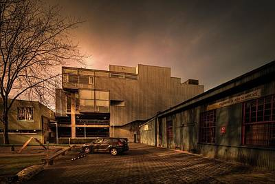 Photograph - Eastside View Of The North Building by Juan Contreras
