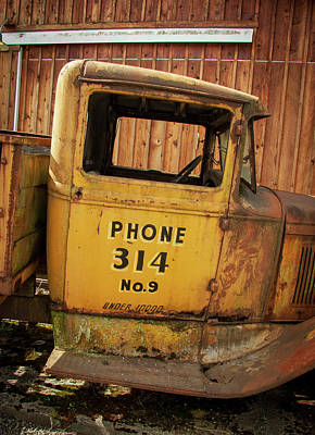 Photograph - Easy Phone Number by Jean Noren
