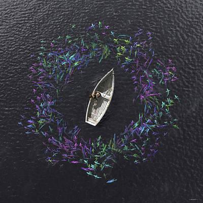 Digital Art - Ebb And Flow by Cynthia Decker