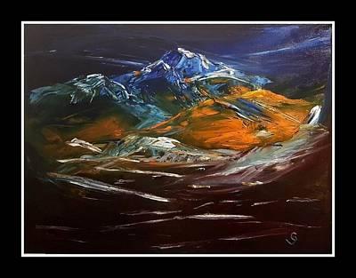 Painting - Echos Run                1919 by Cheryl Nancy Ann Gordon