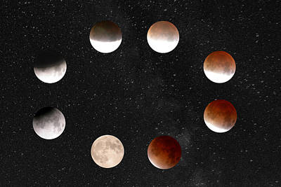 Photograph - Eclipse Of The Moon by Mike Meysner Photography