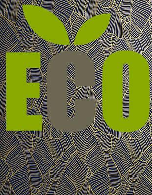Eco Green Art Print