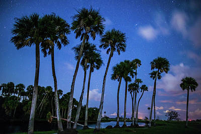 Photograph - Econ River At Night by Stefan Mazzola