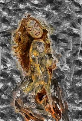 Digital Art - Ecstasy by Mario Carini