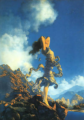 Photograph - Ecstasy by Maxfield Parrish