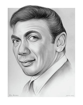Vintage Diner Cars - Ed Ames by Greg Joens