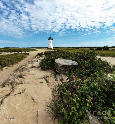 Photograph - Edgartown Lighthouse Marthas Vineyard by Michelle Constantine
