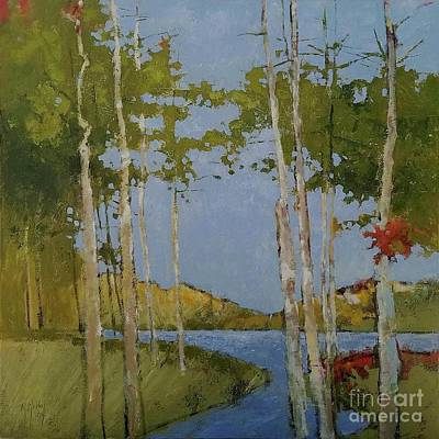 Painting - Edge Of Autumn by Mary Hubley