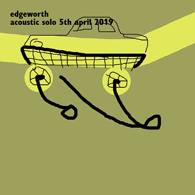 Digital Art - Edgeworth Acoustic Solo 5th April 2019 by Artist Dot
