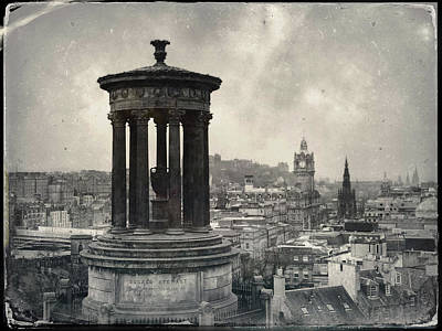 Photograph - Edinburgh From Calton Hill by Dave Bowman