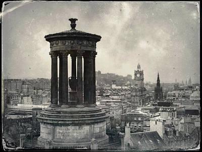Photograph - Edinburgh From Calton Hill I by Dave Bowman