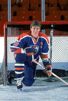Photograph - Edmonton Oilers by B Bennett