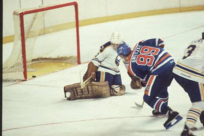Photograph - Edmonton Oilers V Buffalo Sabres by B Bennett