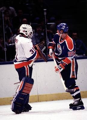 Photograph - Edmonton Oilers V New York Islanders by B Bennett