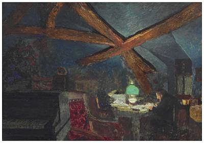 The Who - Edouard Vuillard  1868-1940  The attic of the Grangette in Valvins by Celestial Images