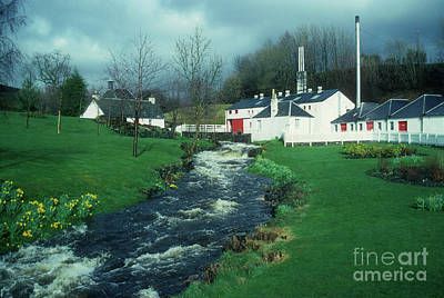 Photograph - Edradour Distillery - Perthshire by Phil Banks