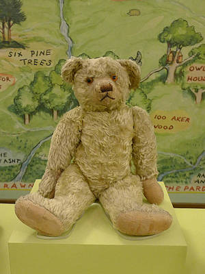 Photograph - Edward Bear - The Original  Winnie The Pooh by Richard Reeve
