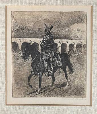 Travel Rights Managed Images - Edward Borein  1872-1945  Mexican Charro Royalty-Free Image by Edward Borein