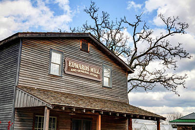 Photograph - Edwards Water Mill At College Of The Ozarks by Gregory Ballos