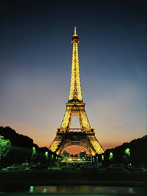 Photograph - Eifel Tower by Images Etc Ltd