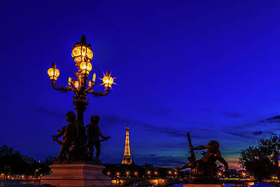 Royalty-Free and Rights-Managed Images - Eiffel from the Pont Alexandre by Andrew Soundarajan